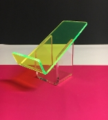 "FL Green 1/4"" Acrylic Display Stand - Qty of 2"